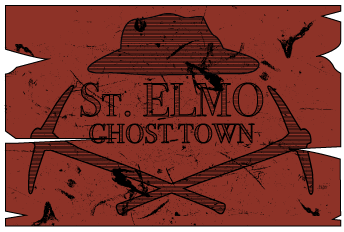 St Elmo Ghost Town